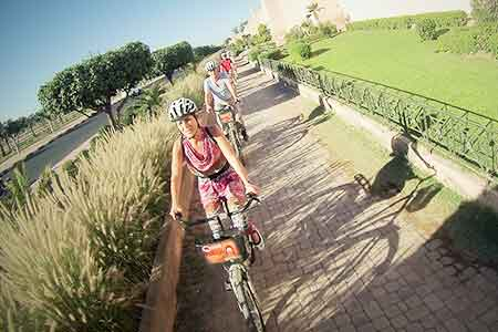 Vélo au Maroc