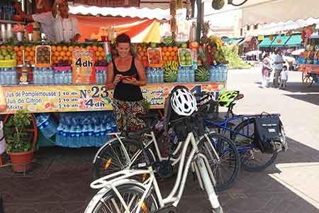 Visite Marrakech Vélo maroc